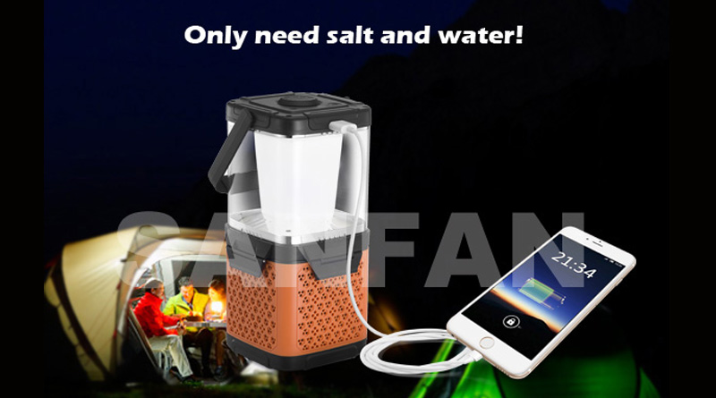 NEW AMAZING PRODUCT - SALT WATER LANTERN